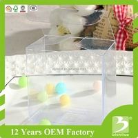 wholesale high quality clear hard PP PET PVC plastic packaging box