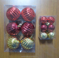 walmart christmas decorations made in china plastic pumpkin ornament ball