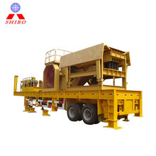 Environmental portable concrete crushing plants for sale price