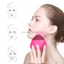 Face Cleansing Brush Facial Cleansing Brush Massager Wireless Silicone Deep Clean Cleanser Exfoliator Electric Ultrasion