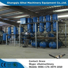 Waste motor oil recycling machine with CE and ISO