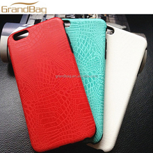 Best selling High Quality Genuine crocodile alligator Leather mobile phone Case Chinese cell phone cover for iPhone 6