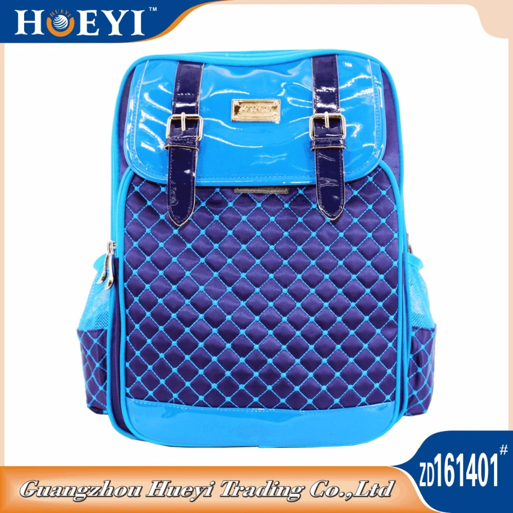 2016 Fashion High School Back Pack Bag daily School Backpack