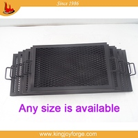 excellent quality rectangle cast iron grills for bbq stoves