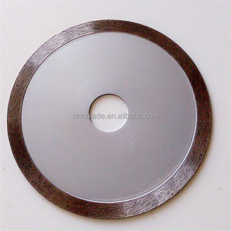 Ceramic porcelain tiles cutting saw blade / Continuous rim diamond saw blade for porcelain