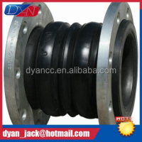 PN10-PN16 Double Sphere rubber expansion joints To reduce the noise