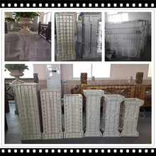 2017 Stone wedding decorative roman pillars column for sale