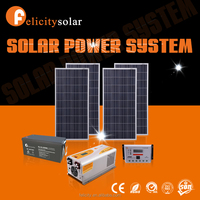 Felicity energy storage 1.5kva off grid pv solar module system for home use