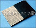 insertion rubber sheet with cotton,nylon,polyester,EP cloth