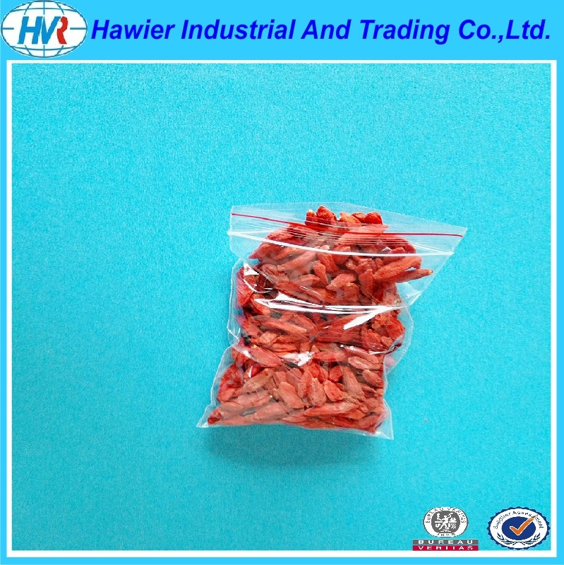 Hawier produce low density poly resealable food bags