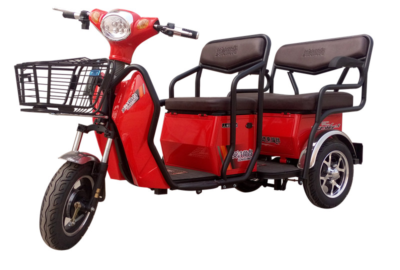 Fashionable 3 wheel bicycle electric tricycle rickshaw