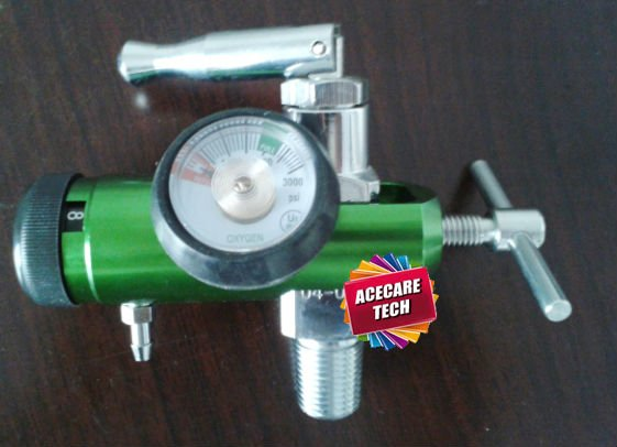 CGA870 valve with regulator