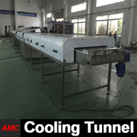Touch Screen State-of-the-art Design hamburger making machine Cooling Tunnel Machine