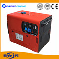 AC Silngle phase 220V Small Portable Diesel Generator Silent 6kw Genset 50HZ 60HZ