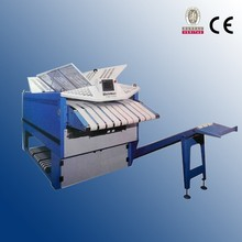 hotel used towel folding machine with CE