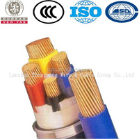 Wire manufacturer 120mm 4 core copper conductor xlpe insulation underground armoured power cable