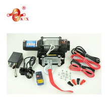 12000lbs 12V 24V 4WD off road 4x4 car electric winch with synthetic rope