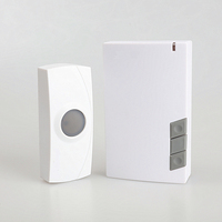 High Quality Waterproof IP44 Long Working Range Battery Operated Wireless Doorbell