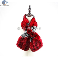 Hot selling cheap price knitted real rex rabbit fur winter scarves for ladies