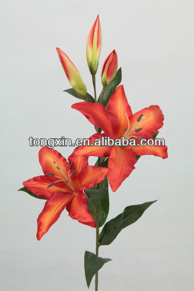 27139K silk flowers for clothes natural looking household decoration plantae silk flower supplier with wholesale price