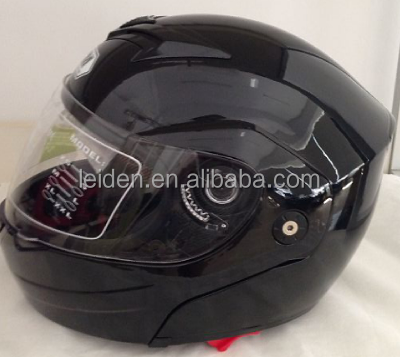 motorbike helmet design dot approved flip up helmet 953 with double visor