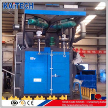 Q37 series shot blasting machine with overhead rail spinner hanger