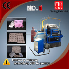 machine making egg carton box