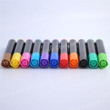 Economical quick dry easy wipe colorful jumbo tips whiteboard marker pen