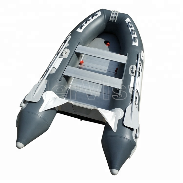 CE China 2018 High Quality PVC Inflatable rubber <strong>boats</strong> with motor outboard PVC <strong>boat</strong> aluminium floor for sale