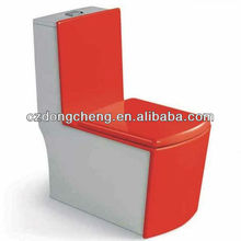 Bathrooom color ceramic one piece red toilet A3958R-1