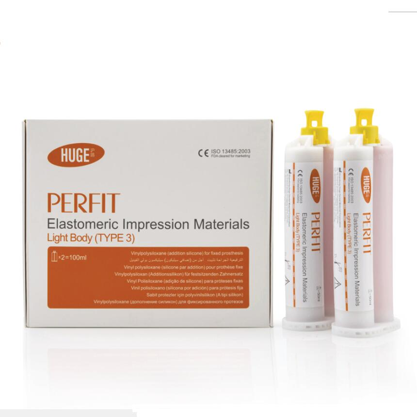 PERFIT Light Body Addition Silicone A Silicone Elastomeric Impression material Huge Dental