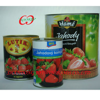 n.w 820g strawberry canned seedless strawberries