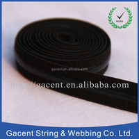 Customized size fold over elastic polyester binding tape