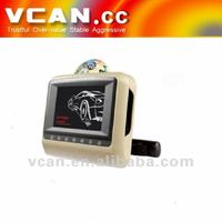 headrest 7 inch touchscreen car dvd player for toyota vcan0429