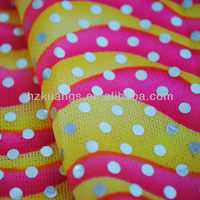printing and handling textile fabric for designer dress
