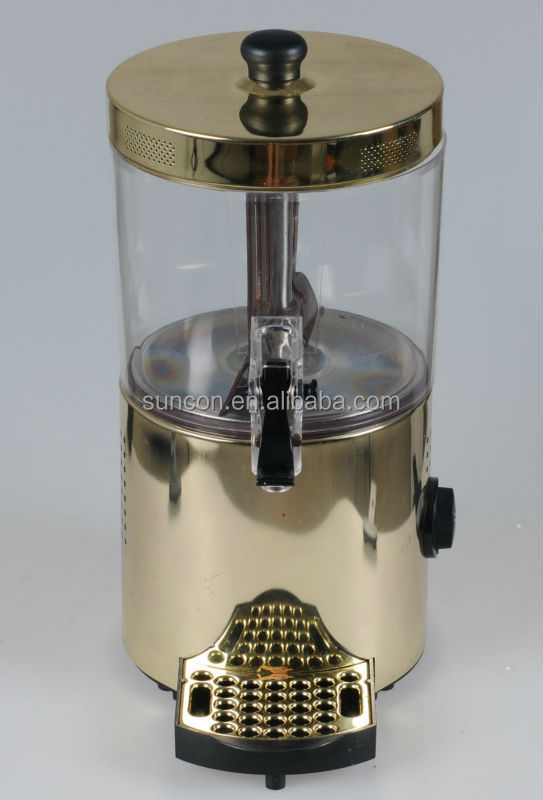 electric Chocolate and Coffee Dispenser, 3 L, Golden