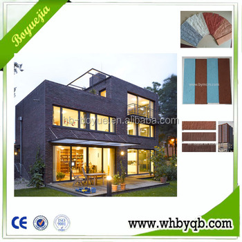 Red decorative face exterior wall brick tile prices