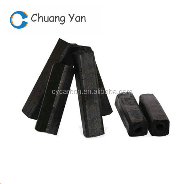 Long time burning Bamboo bbq charcoal for sale