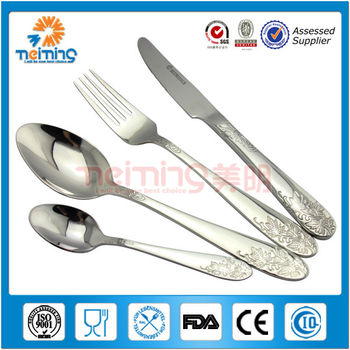 royal gift packing stainless steel sets of cutlery