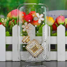 Luxury perfume bottle diamond bling case cover for Samsung galaxy s3 i9300