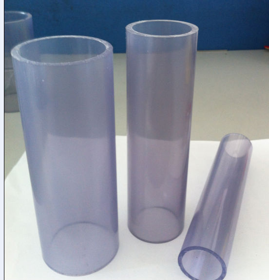 transpaernt pvc pipe
