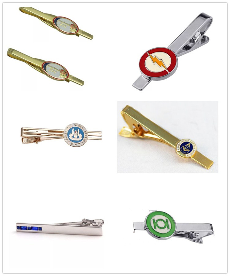 Make Your Own Logo Tie Clip Manufacturers Company Tie Clip