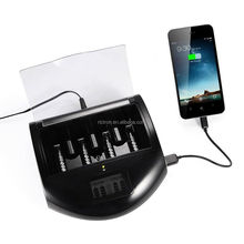 Universal handy battery charger with USB output