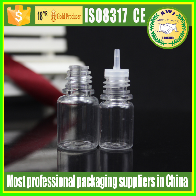 supplier 5ml PET e liquid dropper bottle e juice bottle pet 5ml bottles
