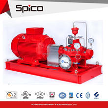 UL Listed centrifugal Electric Motor Fire pump sets with Horizontal Split Case Fire Pump 1000gpm@130PSI