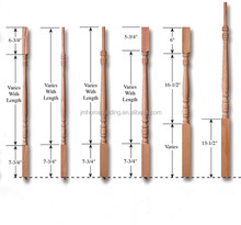 hardwood solid stair part/balusters/spindles