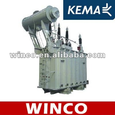 KEMA 110kV Oil Immersed Power Transformer