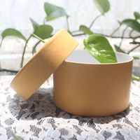 lip balm container for custom comestic package kraft paper tube box