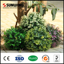 High quality plastic artificial uv boxwood topiary ball