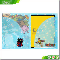 China supplier a4 size book cover school supplies pvc pp cover document file folder paper bag creative design folder